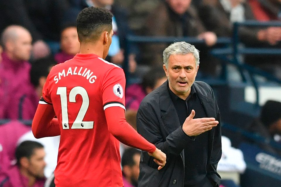 Roma defender Chris Smalling insists his relationship